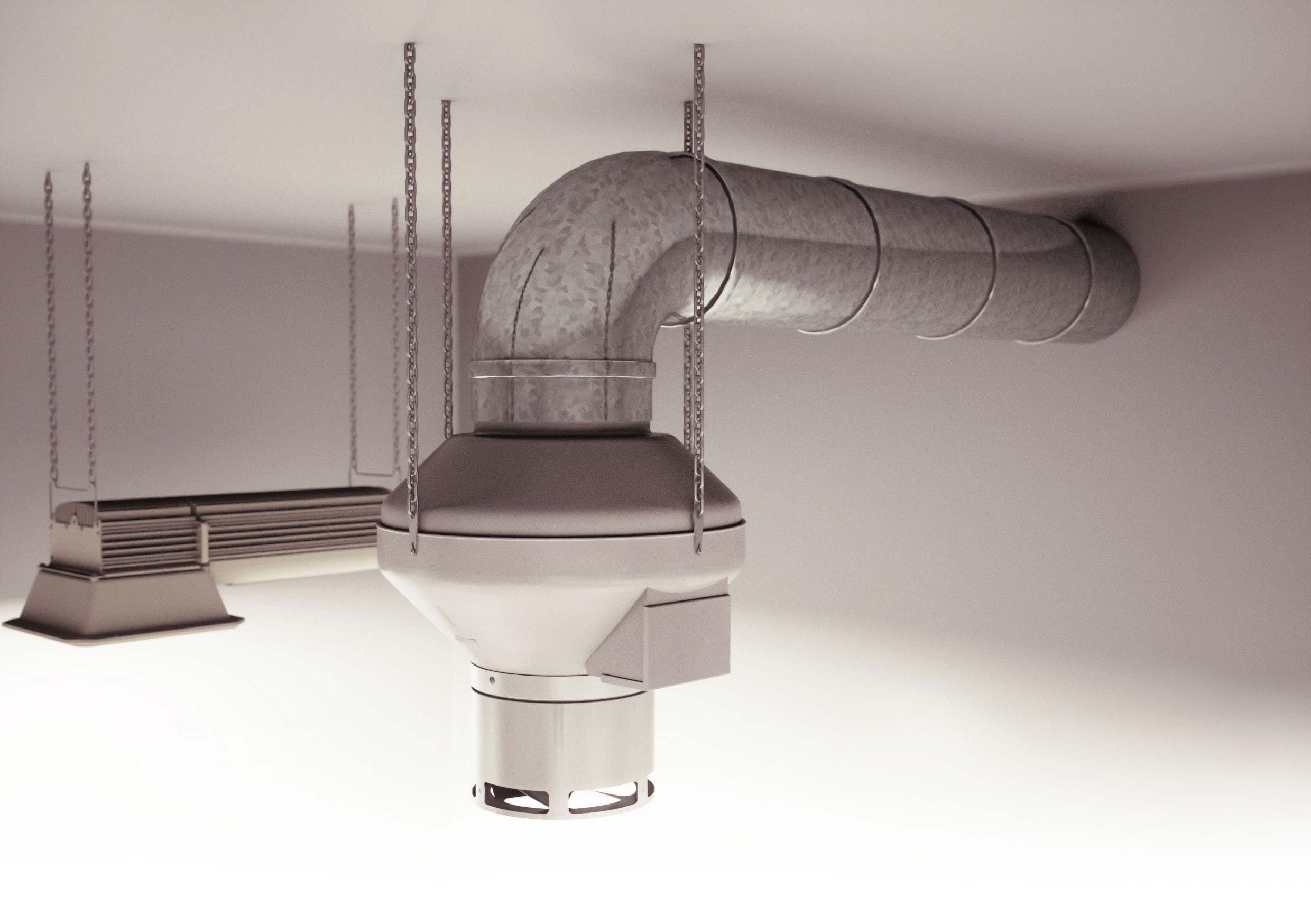 DiffuseAir - Air distribution, enviromental control, ducting example