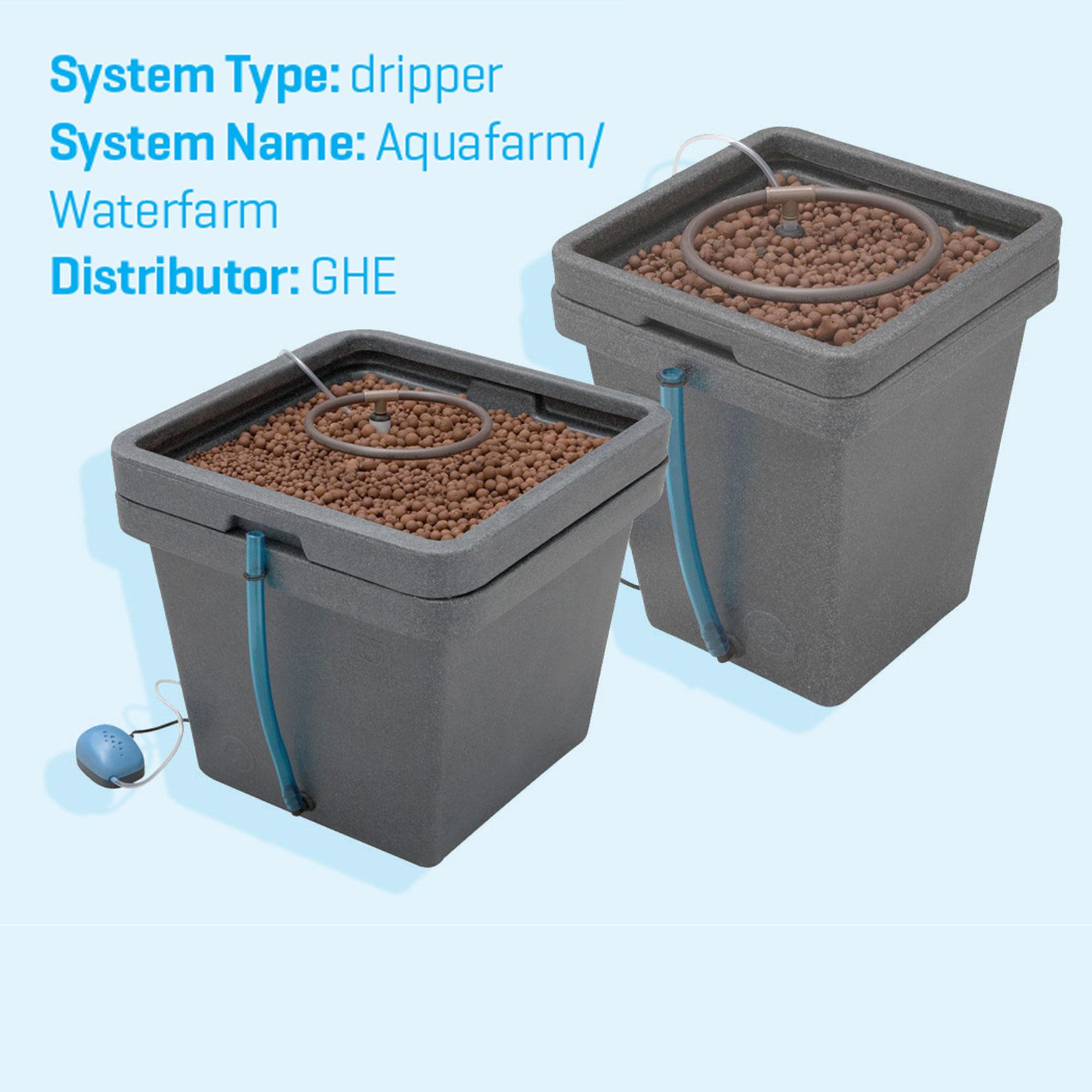 Deep Water Culture Hydroponics System