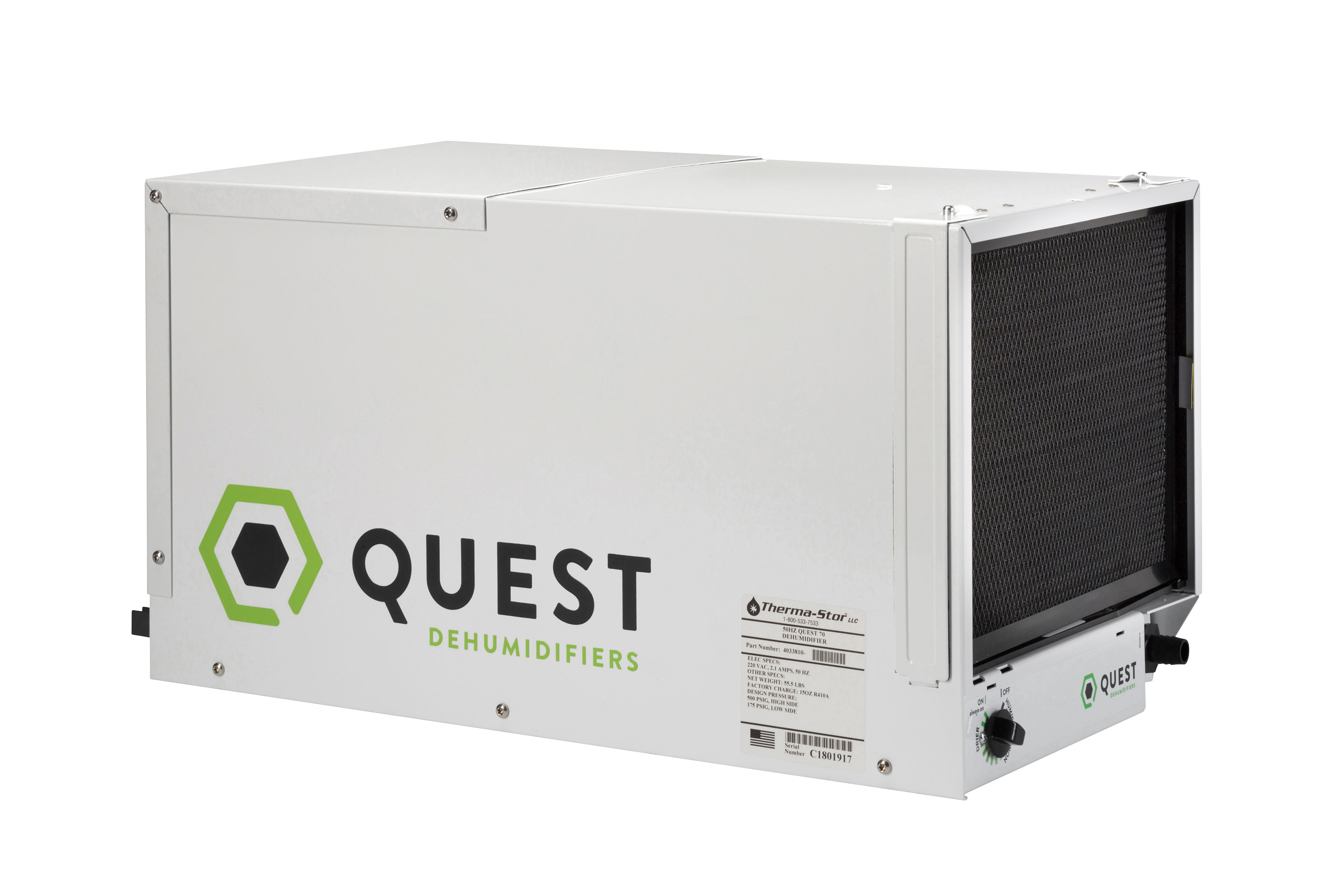 The Quest 70 Dehumidifier under review by Hydromag