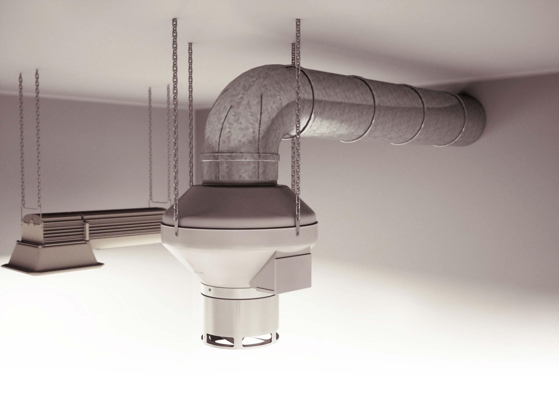 DiffuseAir - Air distribution, enviromental control, ducting example