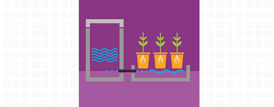 ebb and flow, flood and drain, hydroponics systems, growing systems, plant pots, hydromag