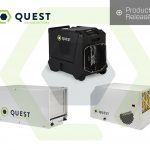 Hydromag reviews the product release of Quest Dehumidifiers in the UK